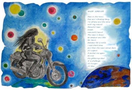 Biker Forever (blue)