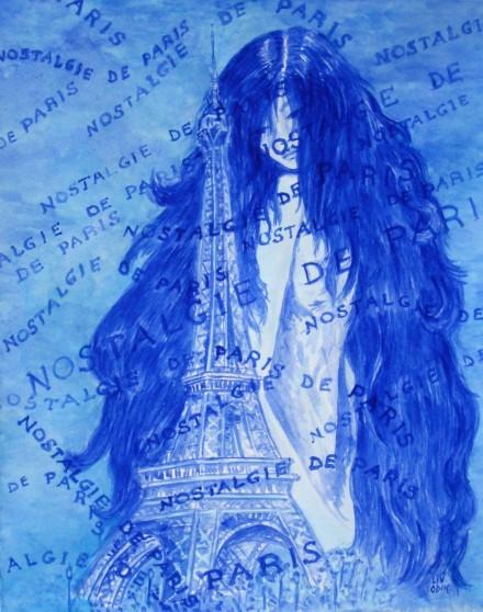 Nostalgie de Paris (blue)