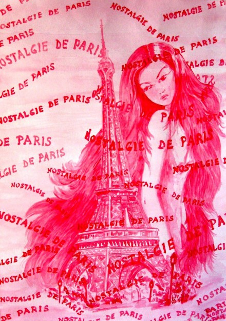 Nostalgie De Paris (pink)
