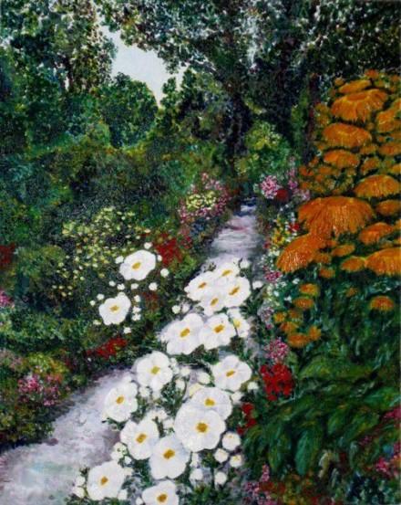 Path in Lisa's garden
