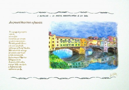 Old Bridge – Florence (Ponte vecchio-Firenze)